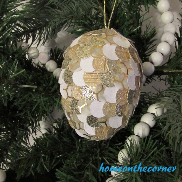 Christmas PInecone Ornament