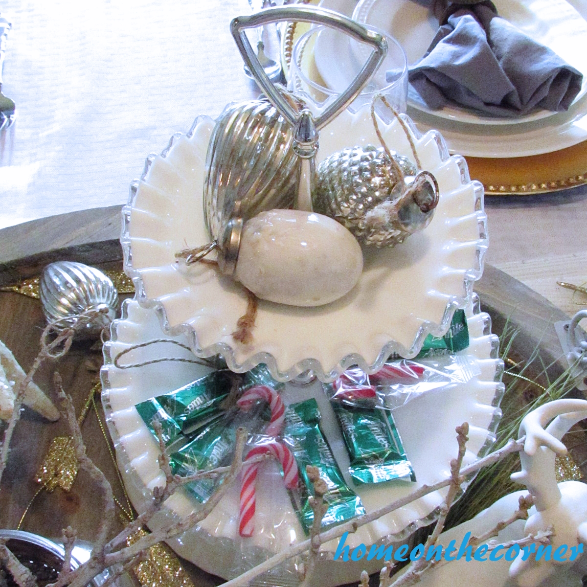 Dining Room Christmas 2015 Ornaments
