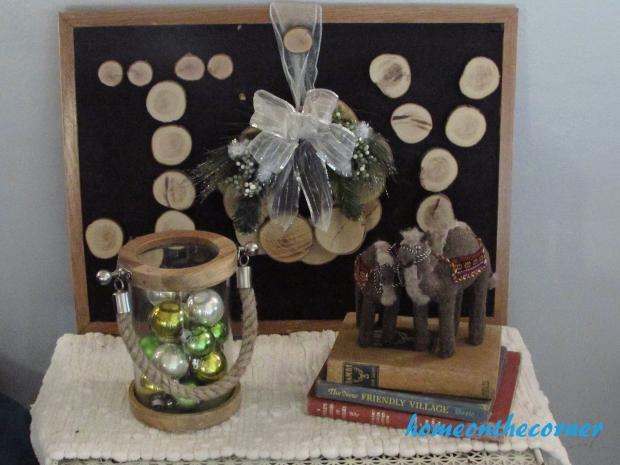 Christmas Woodchip Joy