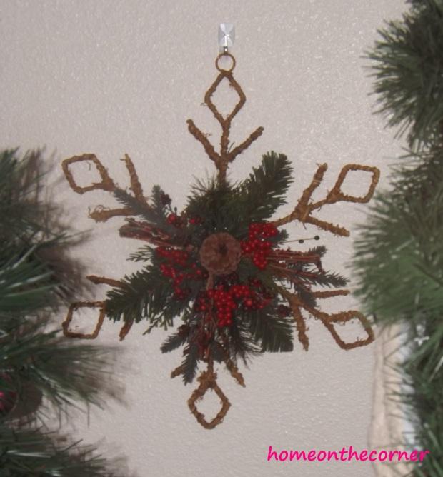 Christmas Woodsy Star
