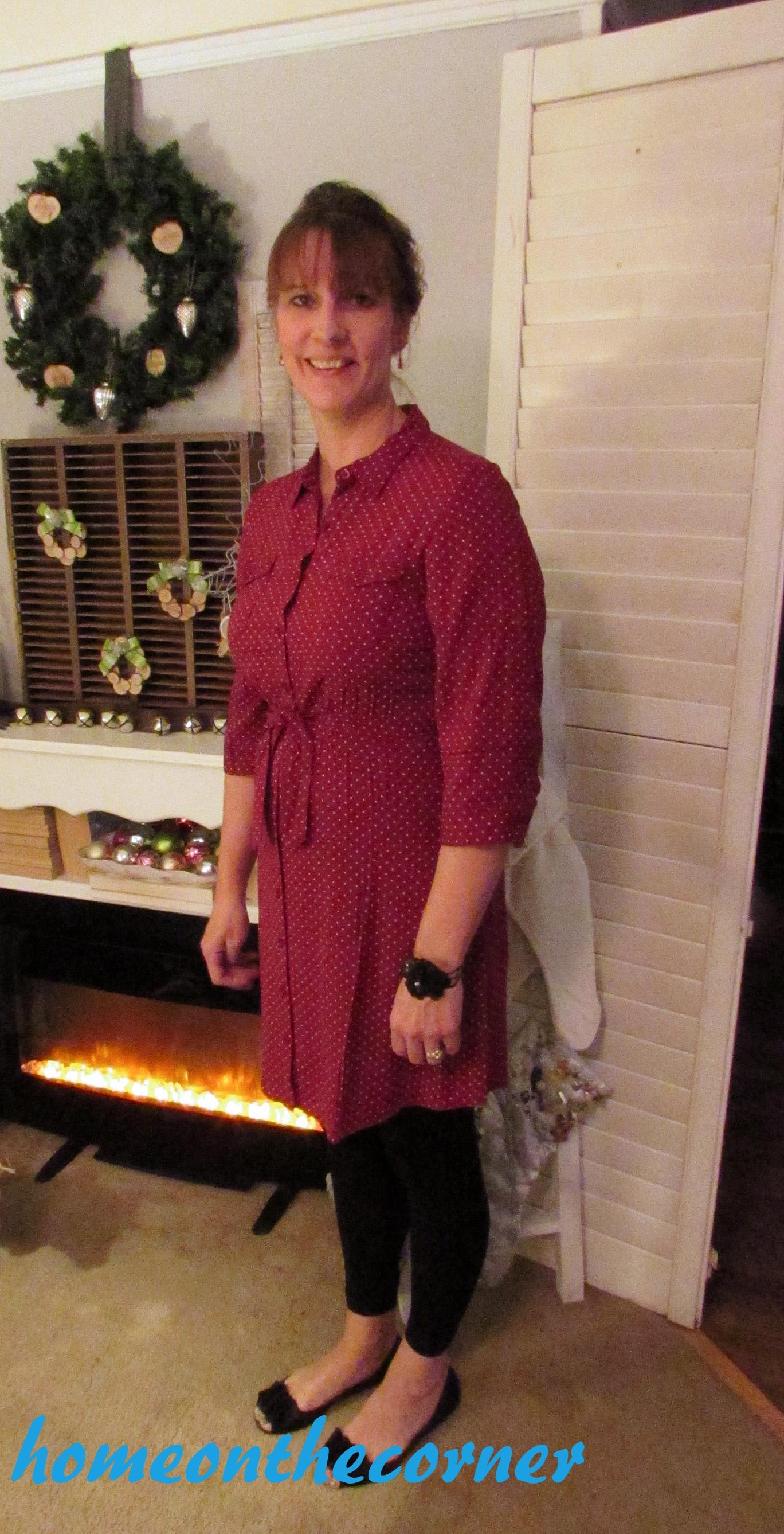 Fashion 2015 Pam Red Dot Dress