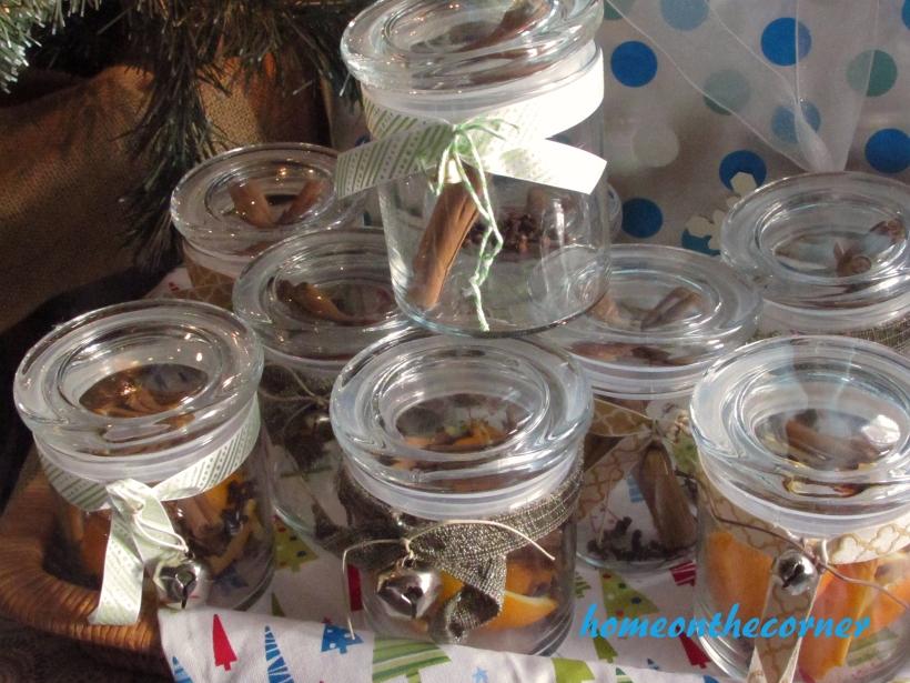 Simmer Pot Stack of Jars