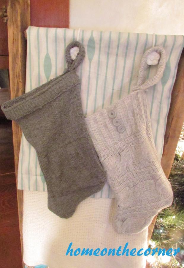sweater christmas stockings