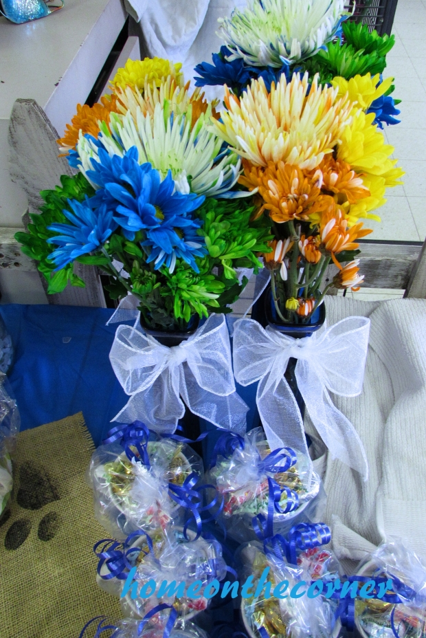 animal shelter volunteer flowers