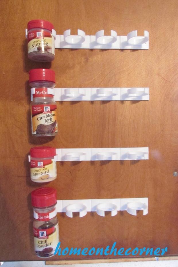 spice organizer measuring