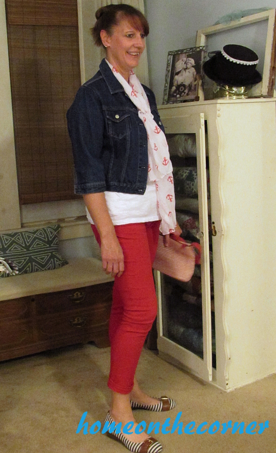 fab finds and fashions red nautical