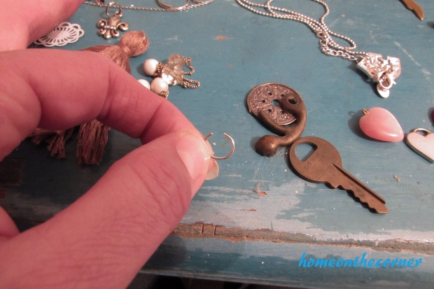 tassel key chain jump ring
