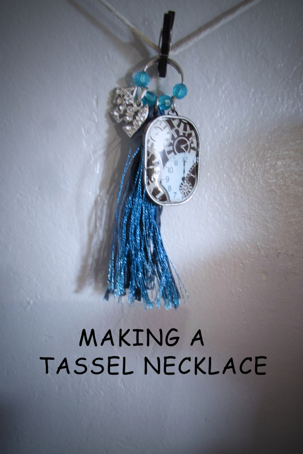 tassel necklace title