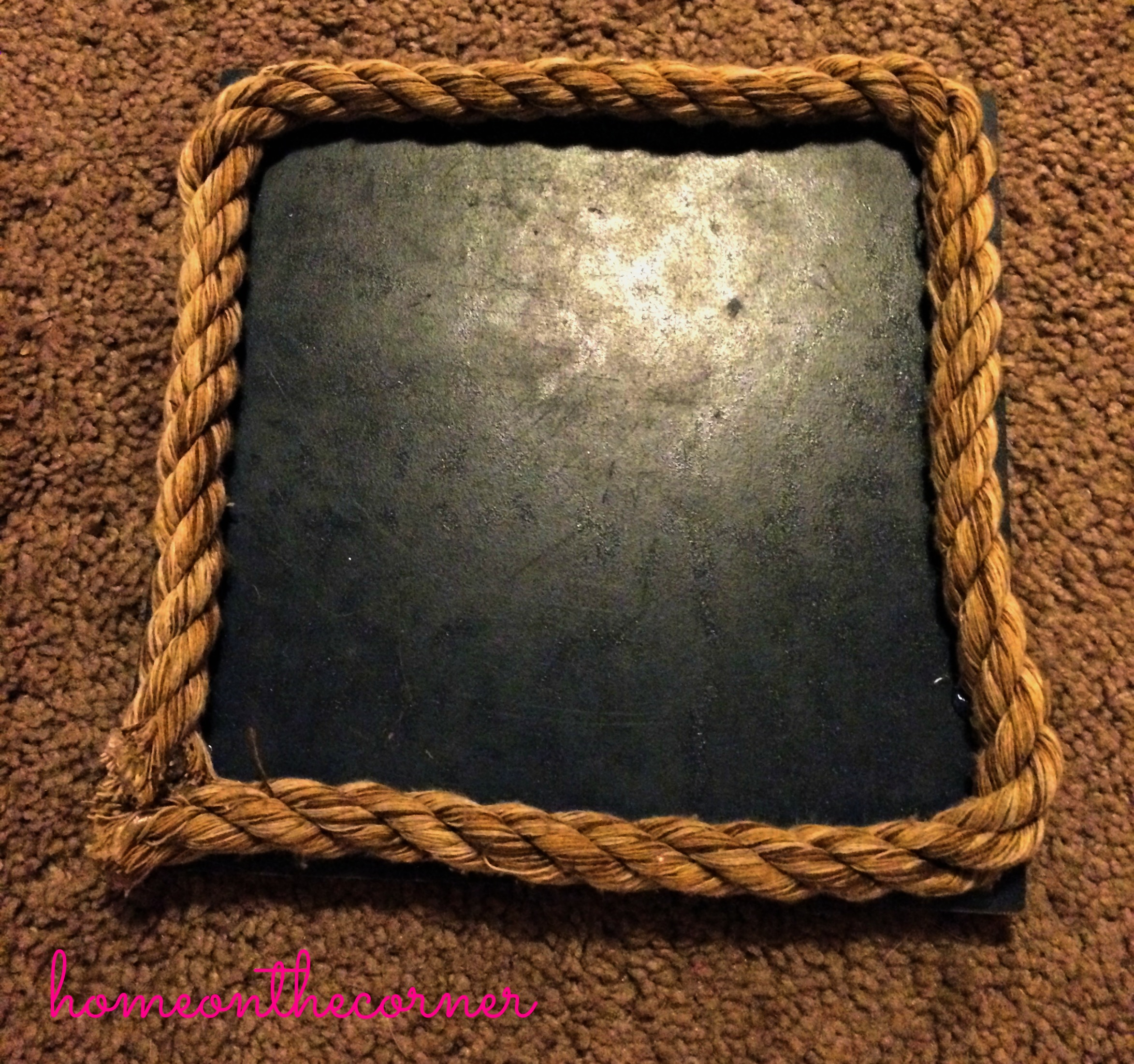 Board with Rope
