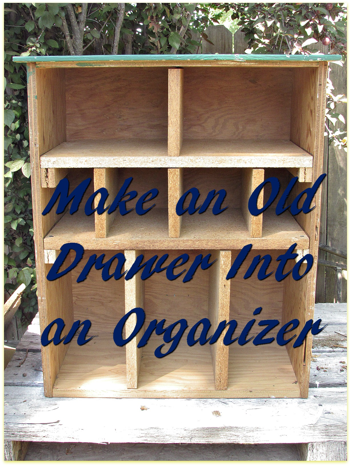 drawer organizer title