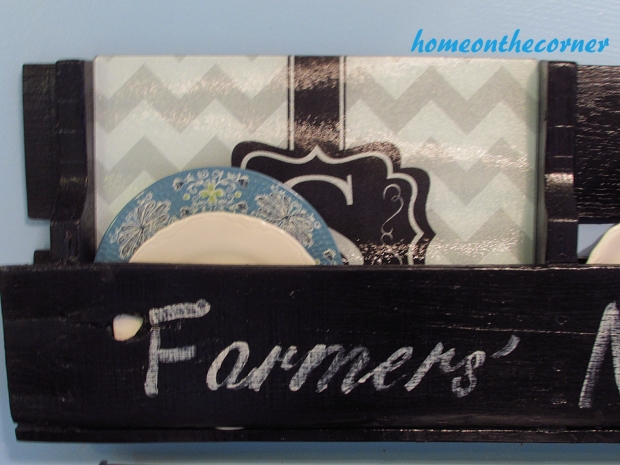 pallet farmers platter and plate holder