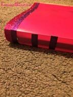Pink Binder Spine