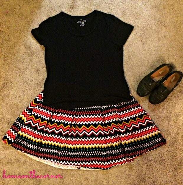Chevron Skirt 2