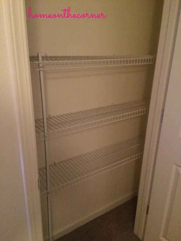 Closet Empty