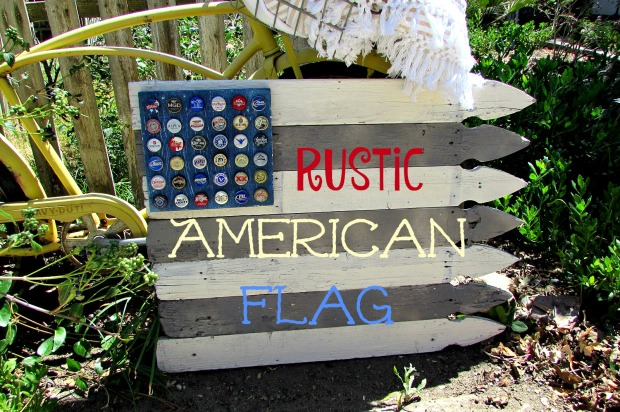 picket american flag title