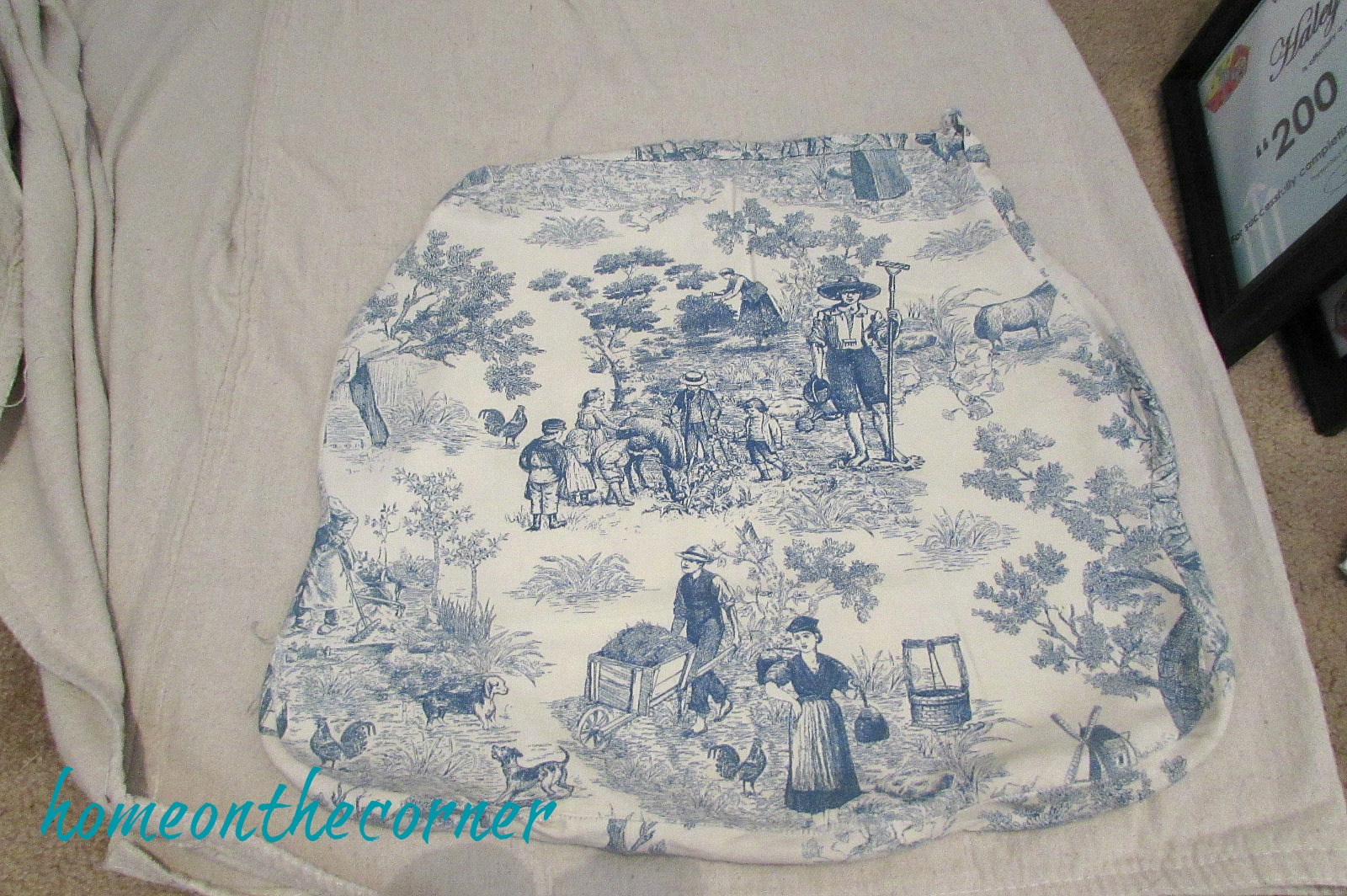 grandpas chair seat cover and pad