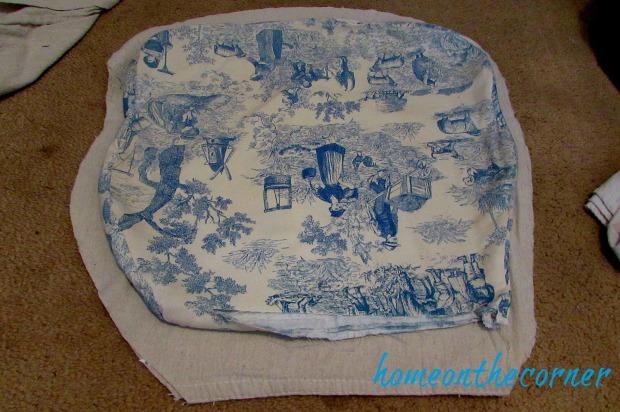 grandpas chair seat fabric