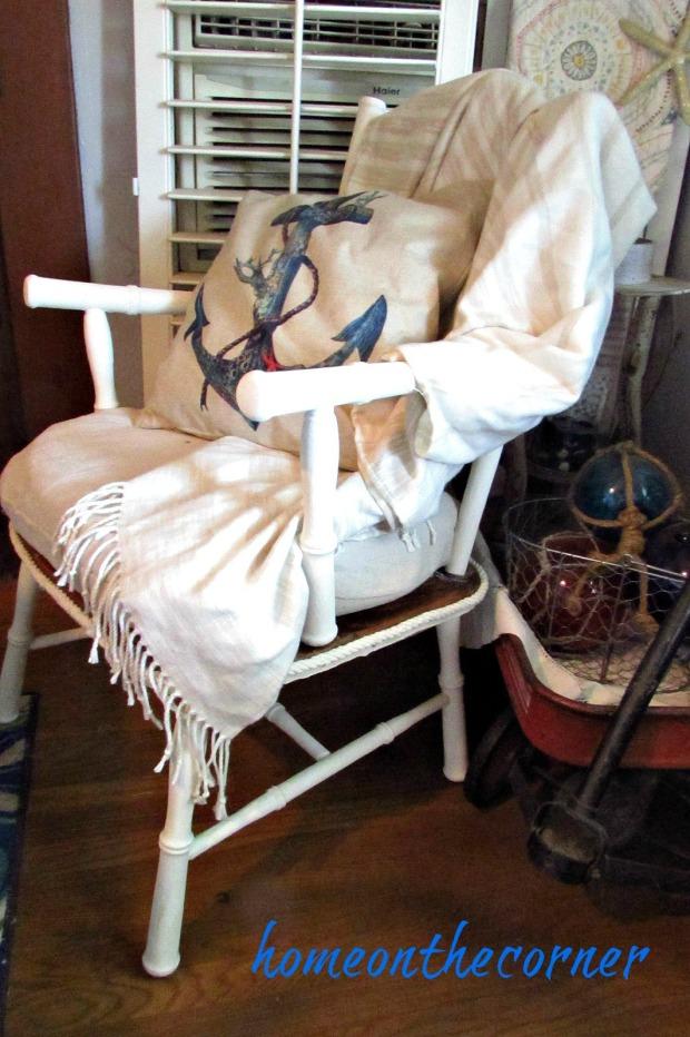 grandpa's chair styled