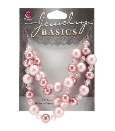 pink beads
