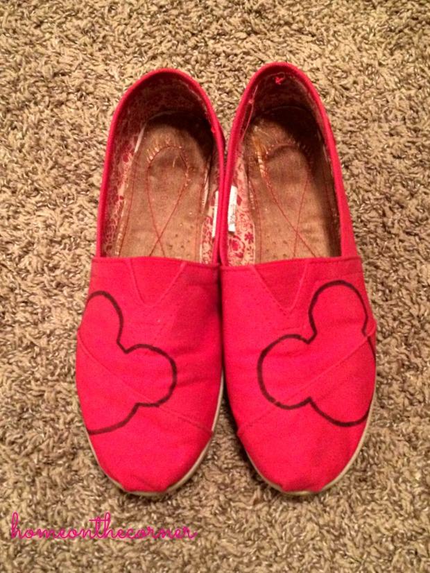 Disney Shoes 1