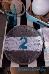 rattan plate holder number 2