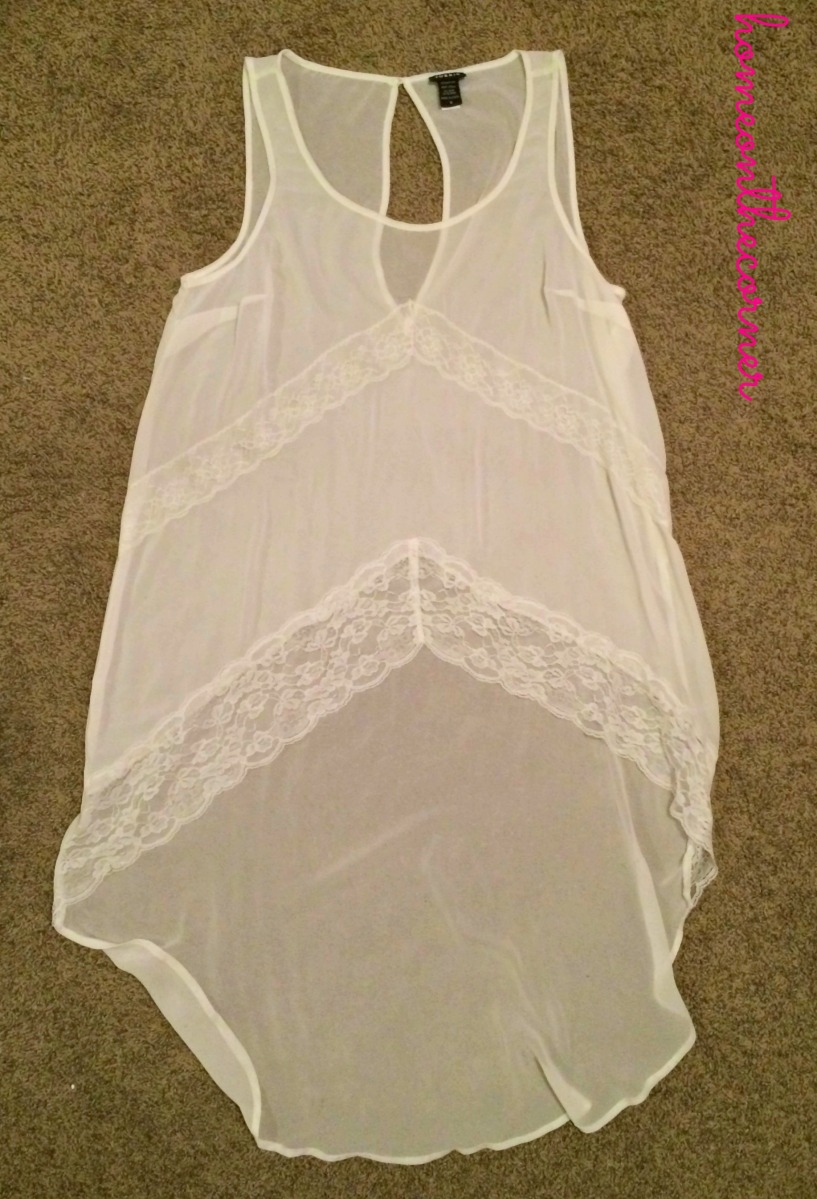 Torrid White Shirt