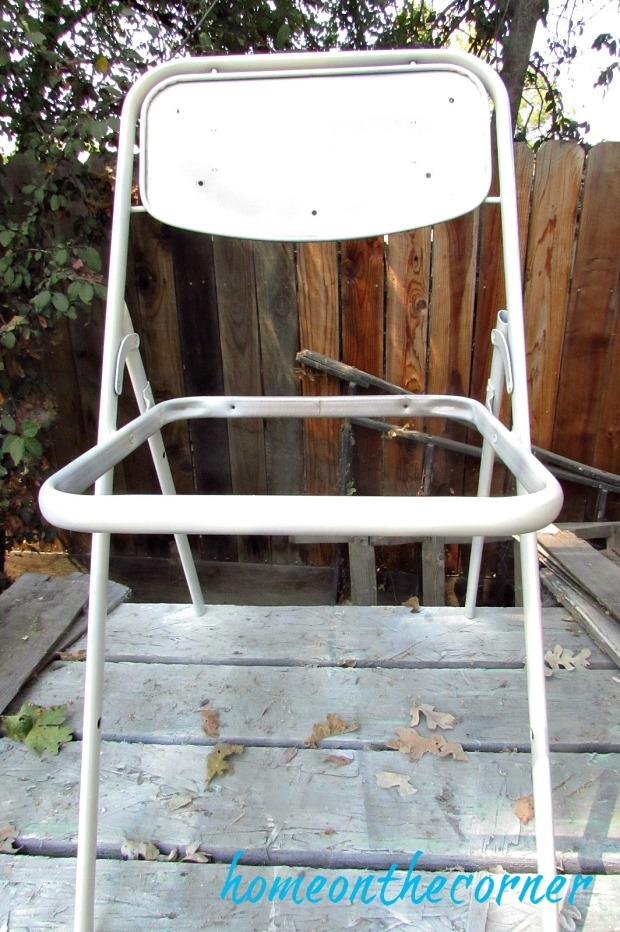 folding chair makeover chair frame