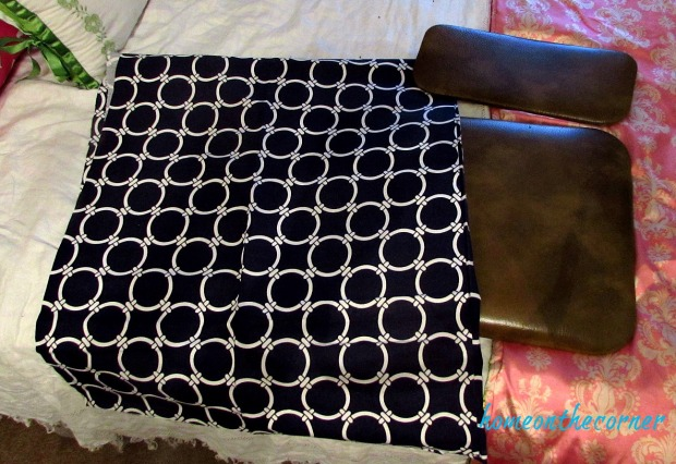 folding chair makeover fabric