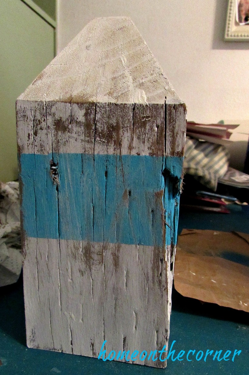 ocean buoy turquoise and white