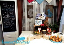 rustic woodland bridal shower