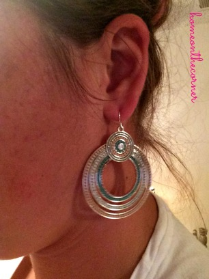 Sorbet Earrings close up