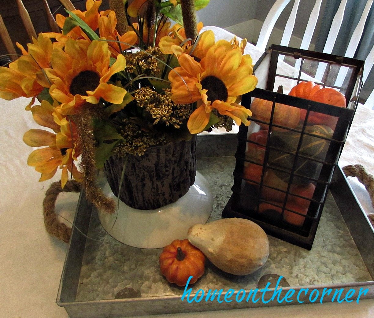 fall-yellow-centerpiece