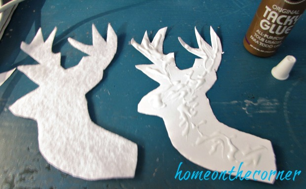 faux-deer-ornament-glue
