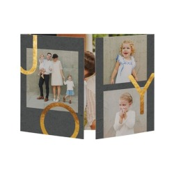 living_in_love-gate_fold_holiday_cards-hello_little_one-flint-gray