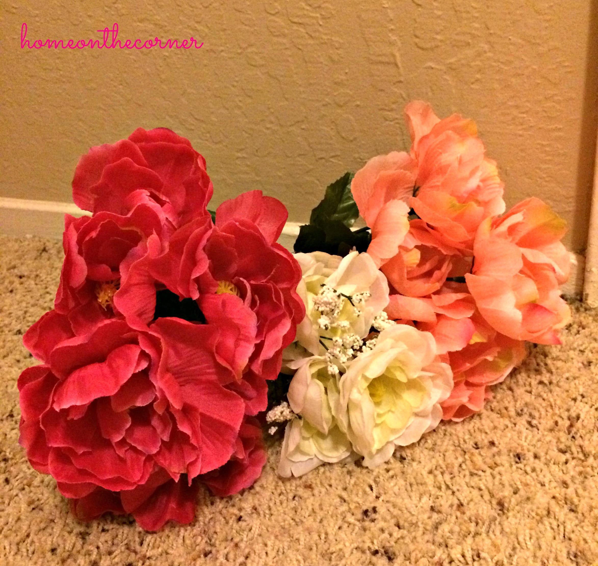 pink-fake-flowers