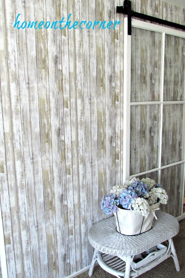 barn wood wallpaper full wall