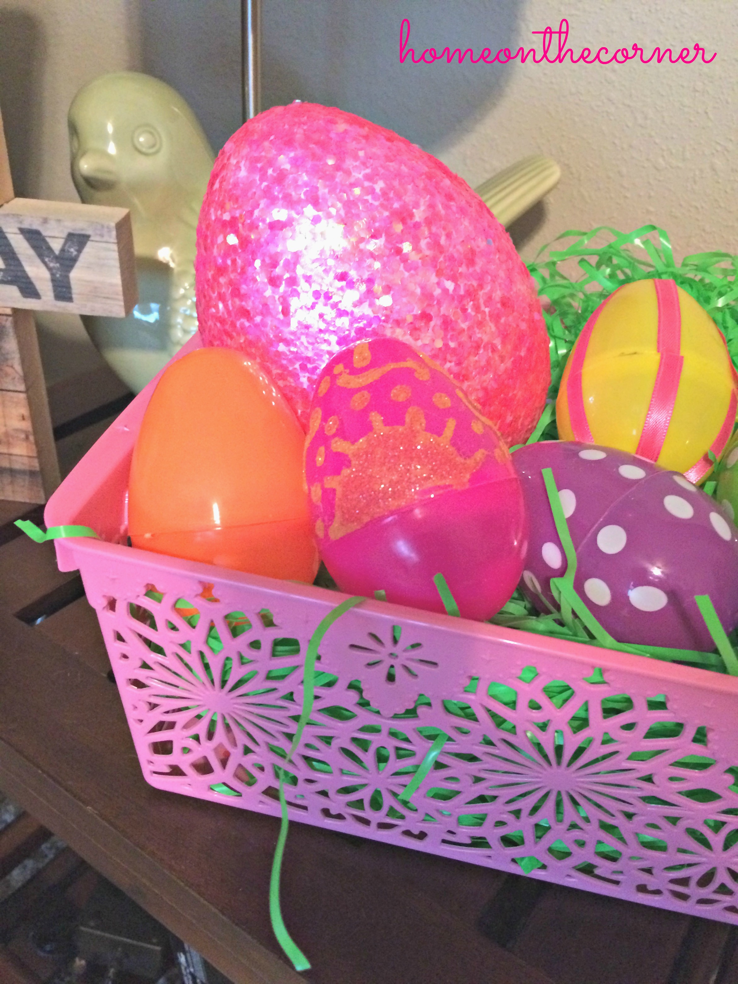 Easter Egg Pink Close Up