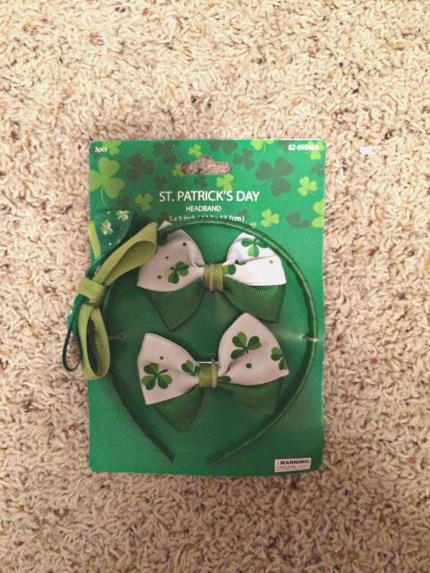 St. Patricks Day Bows