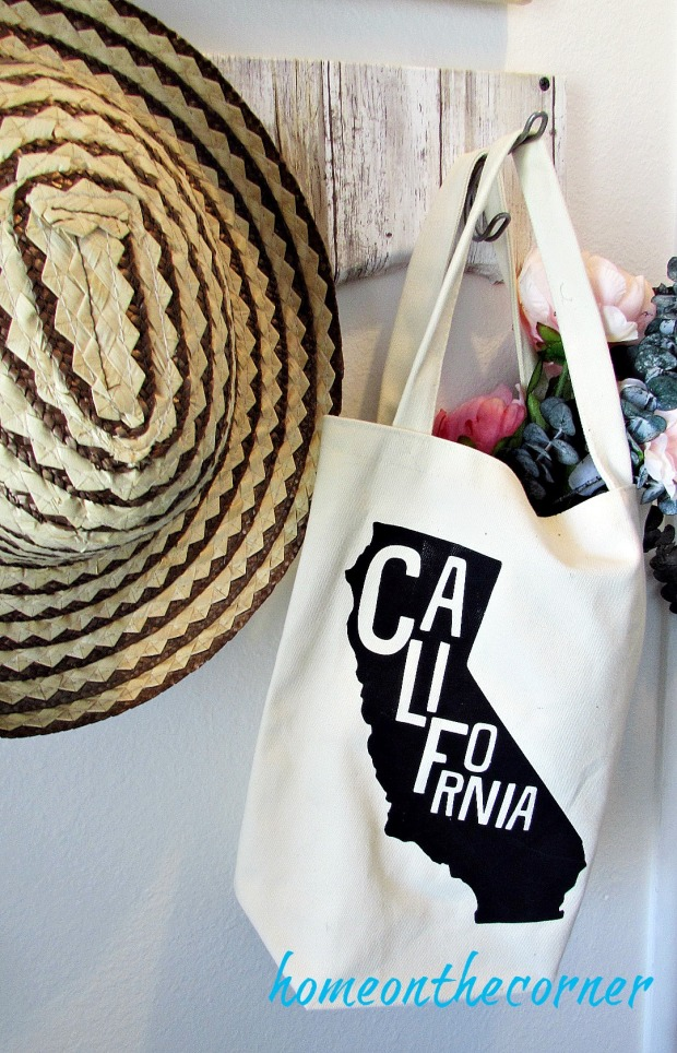 painted entryway california bag