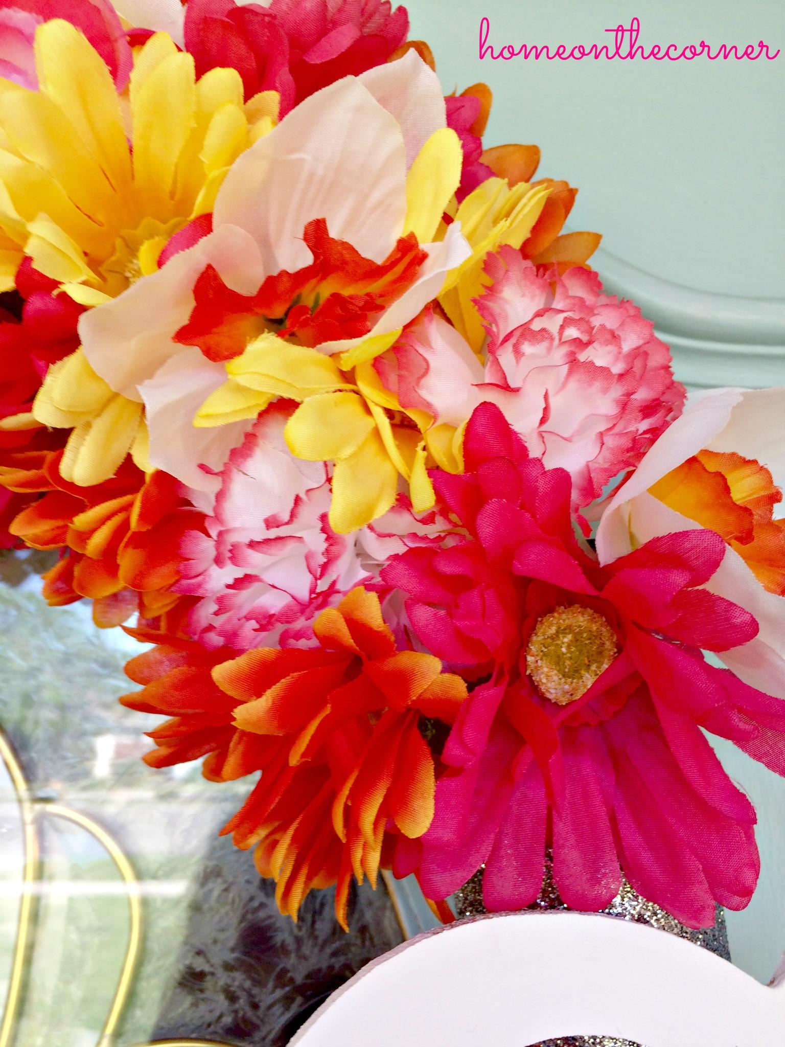 Flower Wreath Close Up 2