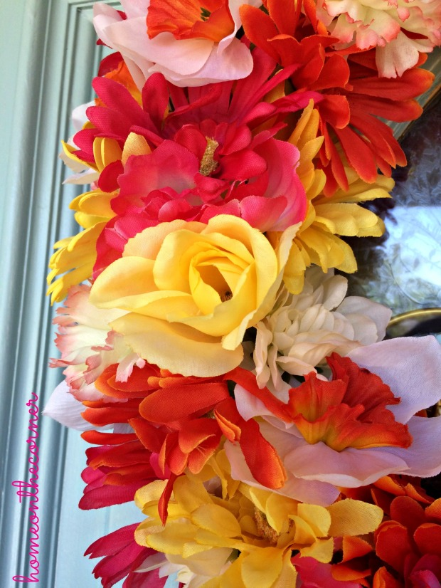 Flower Wreath Close Up