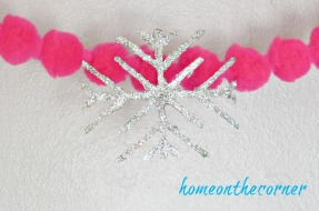 strawberry silver snowflake
