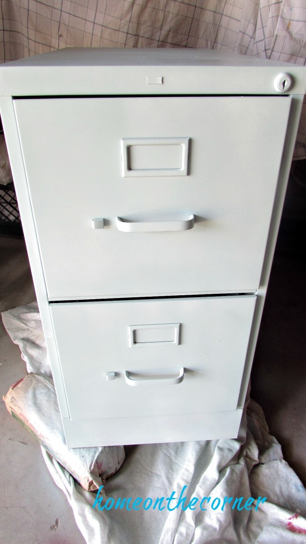 file cabinet makeover rustoleum primer
