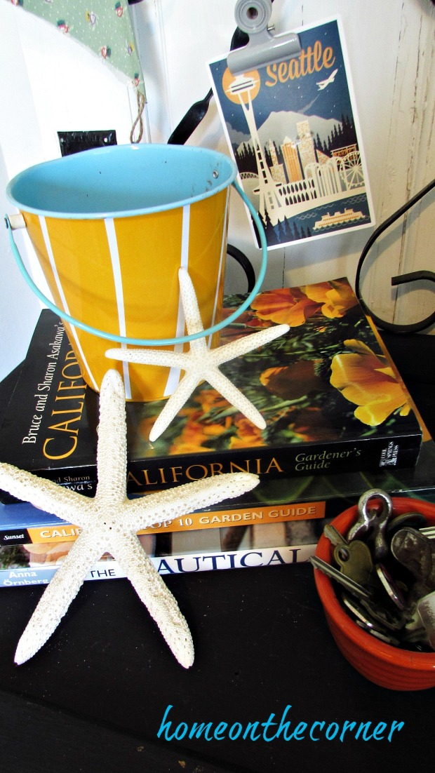 travel entry way california bucket starfish