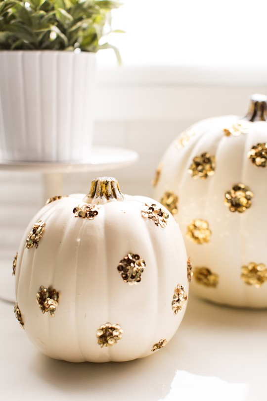 Sequins Pumpkins