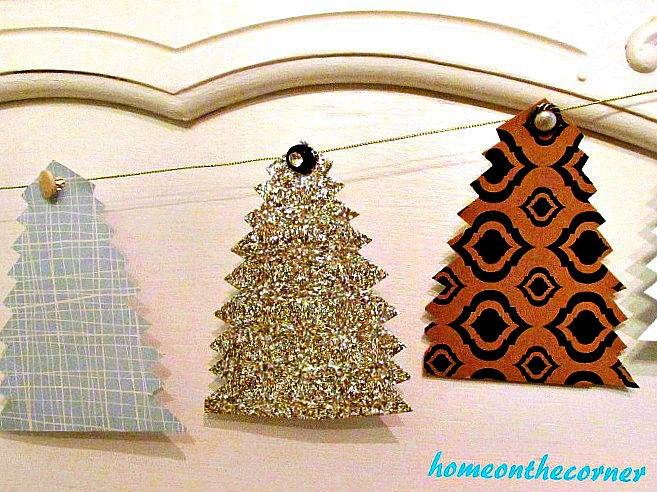 Christmas Tree Garland 3 Trees 2017