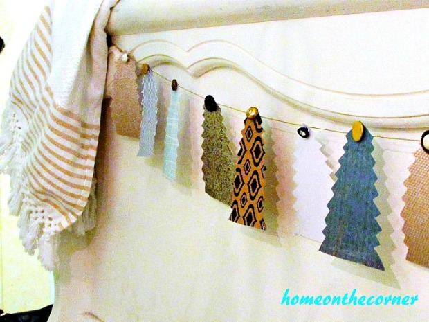 Christmas Tree Garland Footboard 2017