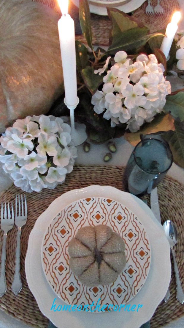 fall tablescape 2017 place setting