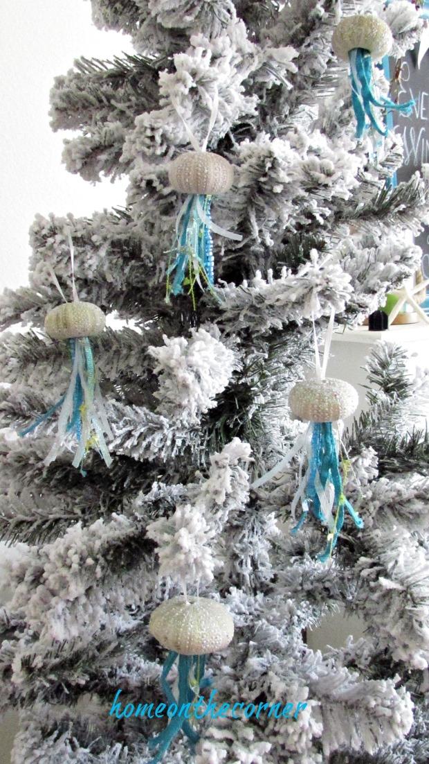 ornament exchange 2017 sea urchin jelly fish