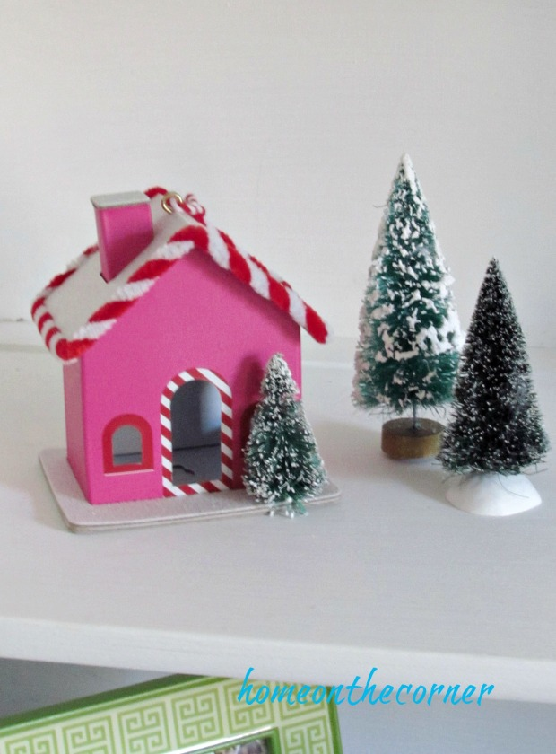 Christmas in the guest room pink house